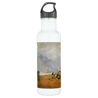 The Fish Market at Hastings Beach J. M. W. Turner Stainless Steel Water Bottle
