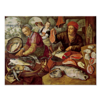 The Fish Market Poster
