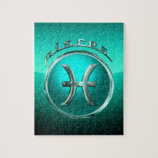 The Fish | Pisces Astrological Sign Jigsaw Puzzle