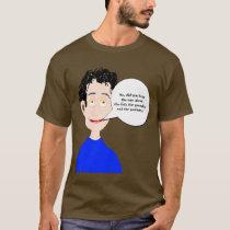 The Fish, Pumpkin, and Podiatrist T-Shirt