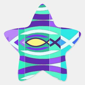 The Fish Star Sticker