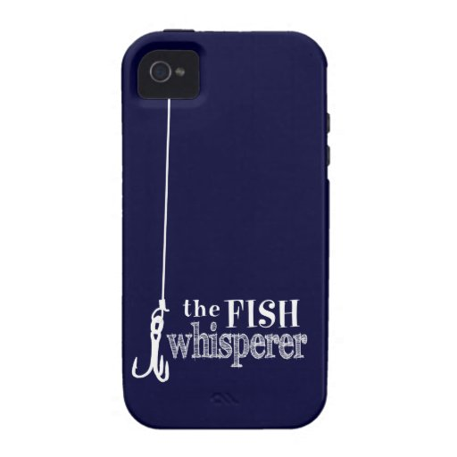 The Fish Whisperer (customizable colors) iPhone 4 Case