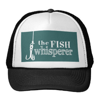 The Fish Whisperer (customizable colors) Trucker Hat
