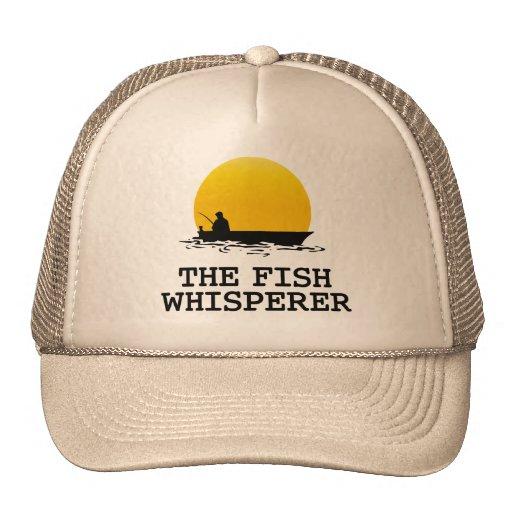 The fish whisperer trucker hat zazzle for The fish whisperer