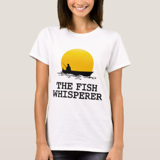 The fish whisperer t shirts shirt designs zazzle for The fish whisperer