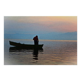 The Fisherman 36 x 24 Poster