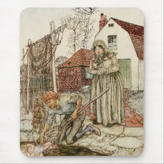 The Fisherman and his Wife Mouse Pad