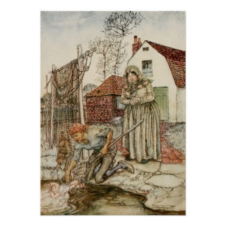 The Fisherman and his Wife Poster