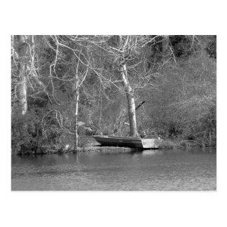 The Fisherman B&W Postcard