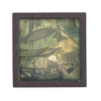The Fisherman, c.1861 (oil on canvas) Keepsake Box