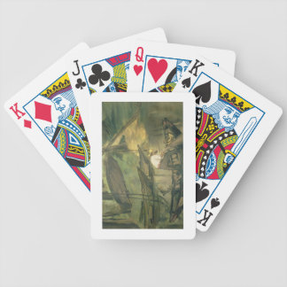 The Fisherman c 1861 oil on canvas Poker Deck