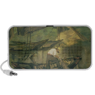 The Fisherman c 1861 oil on canvas iPhone Speaker
