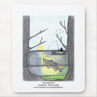 """The Fisherman"" Mouse Pad"