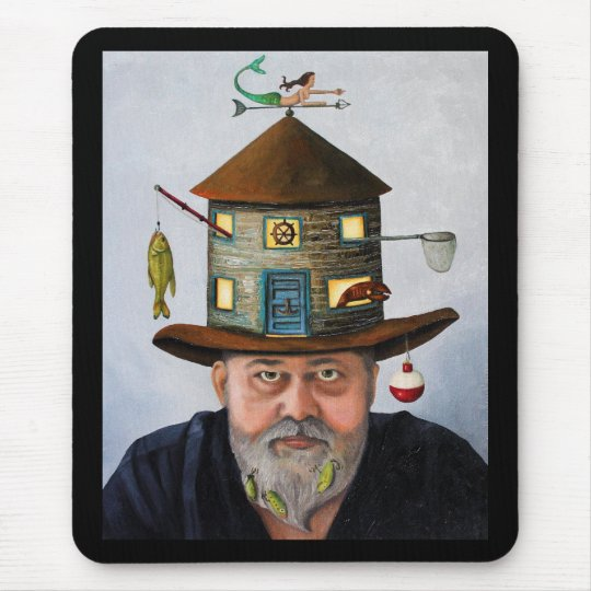 The Fisherman Mouse Pad