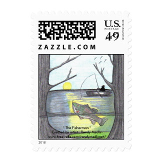 The Fisherman Postage