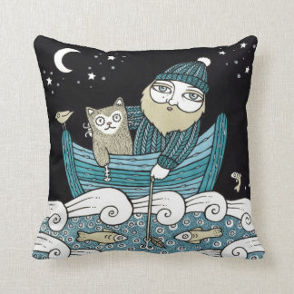 The Fishermans Cat Pillows