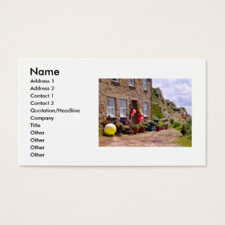 THE FISHERMAN'S COTTAGE BUSINESS CARD