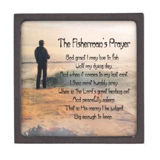 The Fishermans Prayer Keepsake Box