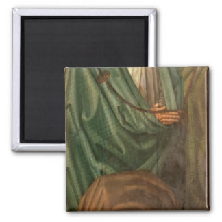 The Fishermen, from the Polyptych of St. 2 Inch Square Magnet