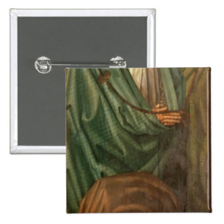 The Fishermen, from the Polyptych of St. 2 Inch Square Button