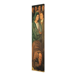 The Fishermen, from the Polyptych of St. Canvas Print