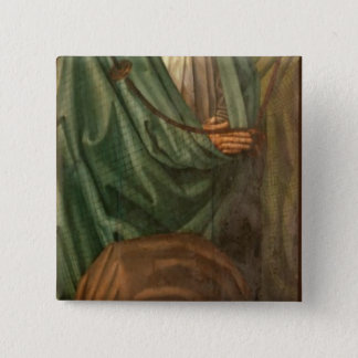 The Fishermen, from the Polyptych of St. Pinback Button