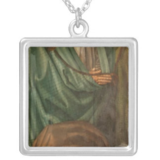 The Fishermen, from the Polyptych of St. Silver Plated Necklace
