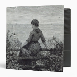 The Fisher's Lass, from 'Leisure Hour', 1888 Binder