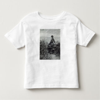 The Fisher's Lass, from 'Leisure Hour', 1888 Toddler T-shirt
