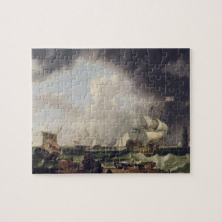 The Fishery c 1764 oil on canvas Puzzles