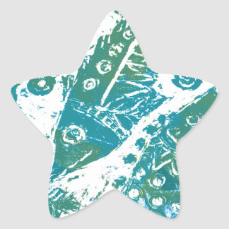 The Fishes Star Sticker
