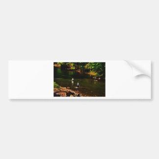 The Fishing Hole Bumper Sticker