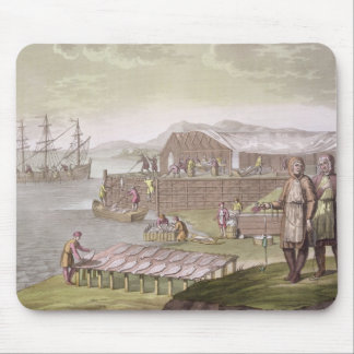 The fishing industry Newfoundland from Le Costu Mousepad