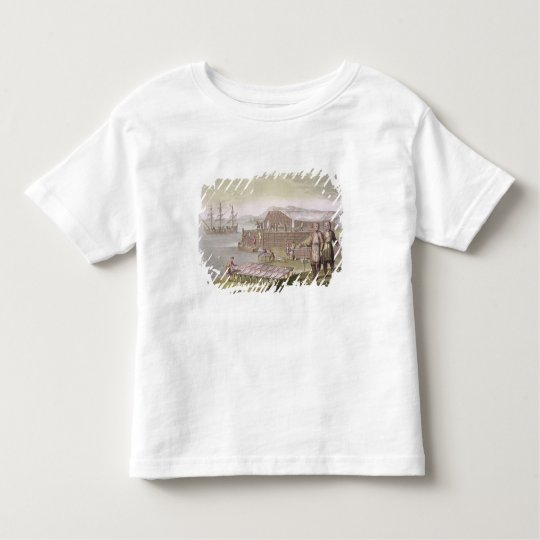 The fishing industry, Newfoundland, from 'Le Costu Toddler T-shirt