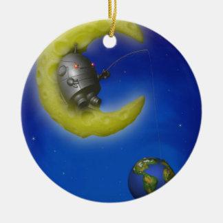The Fishing Moon Ornament