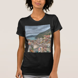 The fishing village of Vernazza Cinque Terre Ita T Shirt