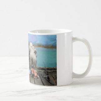 The fishing was good coffee mug