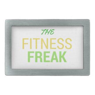 The Fitness Freak-Lemon Rectangular Belt Buckle