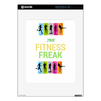 The Fitness Freak-Lemon Skins For The iPad