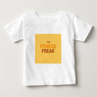 The Fitness Freak-Orange Baby T-Shirt