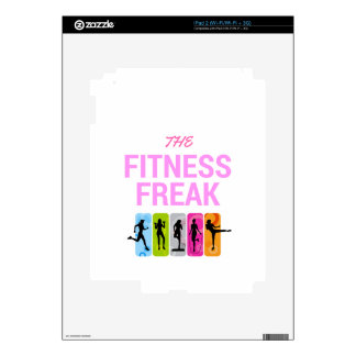 The Fitness Freak-Rose Decal For The iPad 2