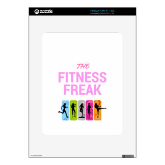 The Fitness Freak-Rose iPad Decals