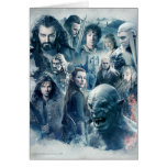 The Five Armies Character Graphic Greeting Card
