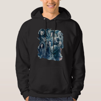 The Five Armies Character Graphic Hoodie