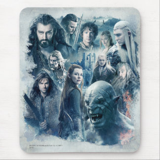 The Five Armies Character Graphic Mouse Pad