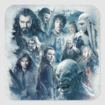 The Five Armies Character Graphic Stickers