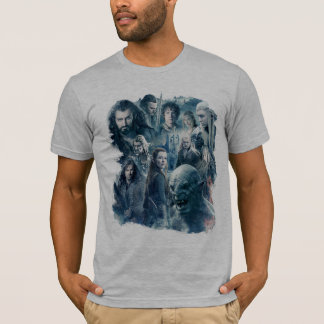 The Five Armies Character Graphic T-Shirt