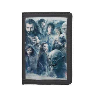 The Five Armies Character Graphic Tri-fold Wallet
