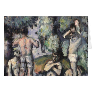 The Five Bathers, c.1875-77 Card