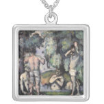 The Five Bathers, c.1875-77 Personalized Necklace